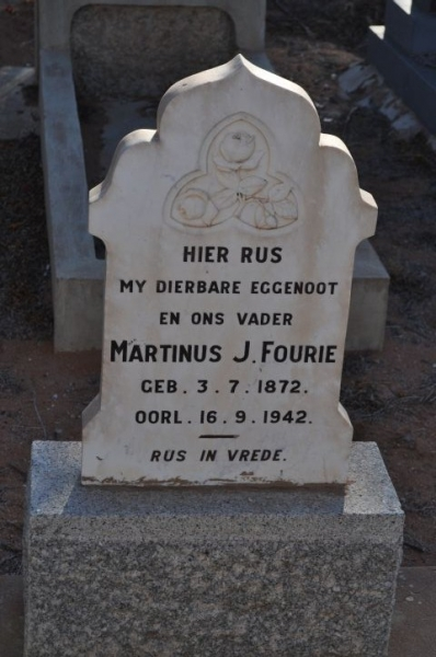 Fourie, Martinus