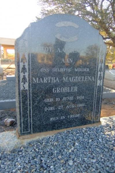 Gobler, Martha Magdalena