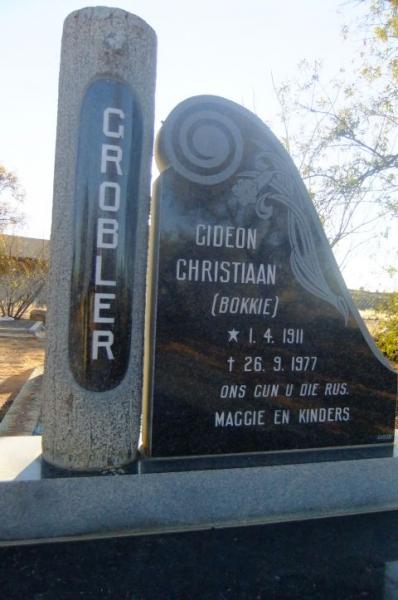 Grobler, Gideon Christiaan