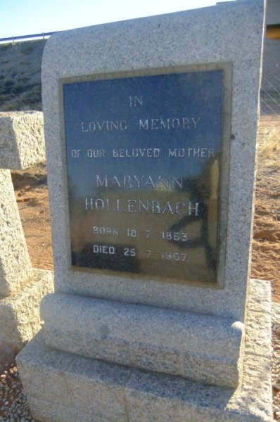 Hollenbach, Mary Ann