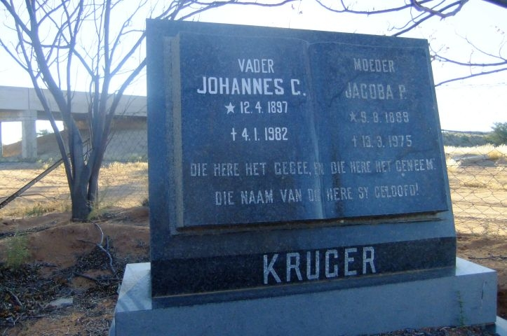 Kruger, Johannes + Jacoba