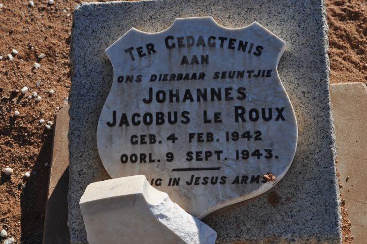 Le Roux, Johannes Jacobus