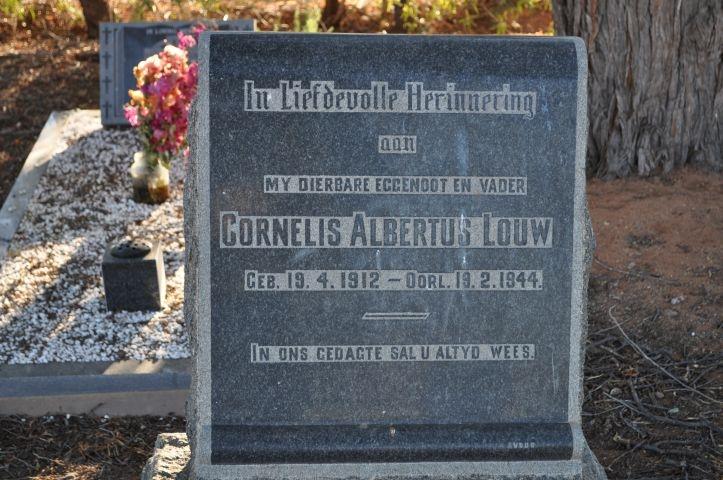 Louw, Cornelis Albertus