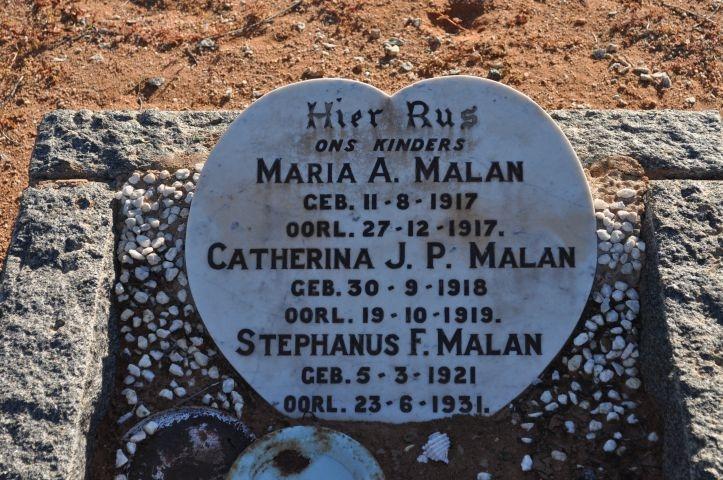 Malan, Maria + Catherina + Stephanus