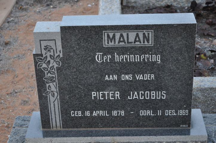 Malan, Pieter Jacobus
