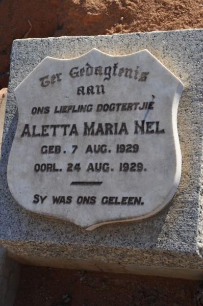 Nel, Aletta Maria