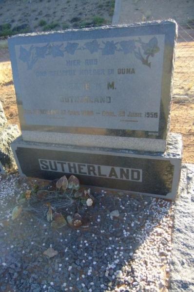 Sutherland, Elizabeth