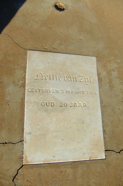 Van Zyl, Nettie