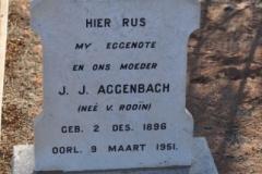Aggenbach, JJ nee Van Rooin