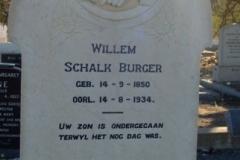 Burger, Willem Schalk