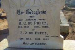 Du Preez, H.C. + Z.P.