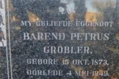 Grobler, Barend Petrus
