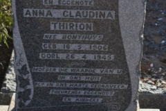 Thirion, Anna Claudina