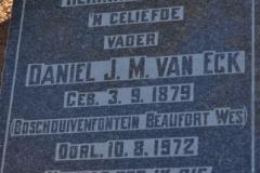 Van Eck, Daniel JM
