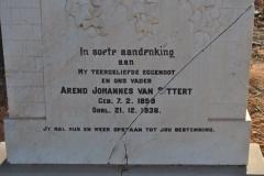 Van Sittert, Arend Johannes