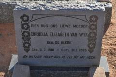 Van Wyk, Cornelia gebore De Klerk