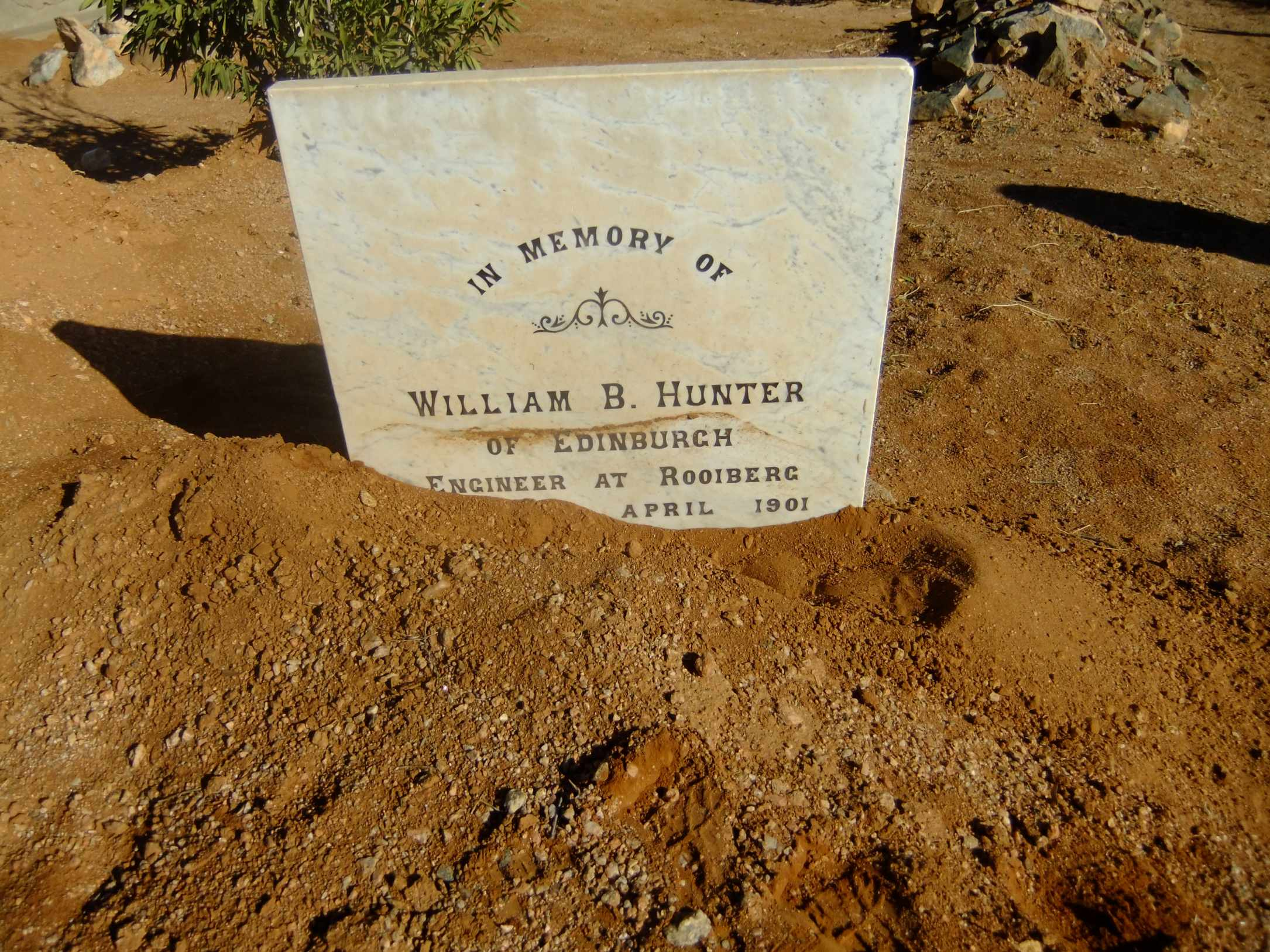 Hunter, William B