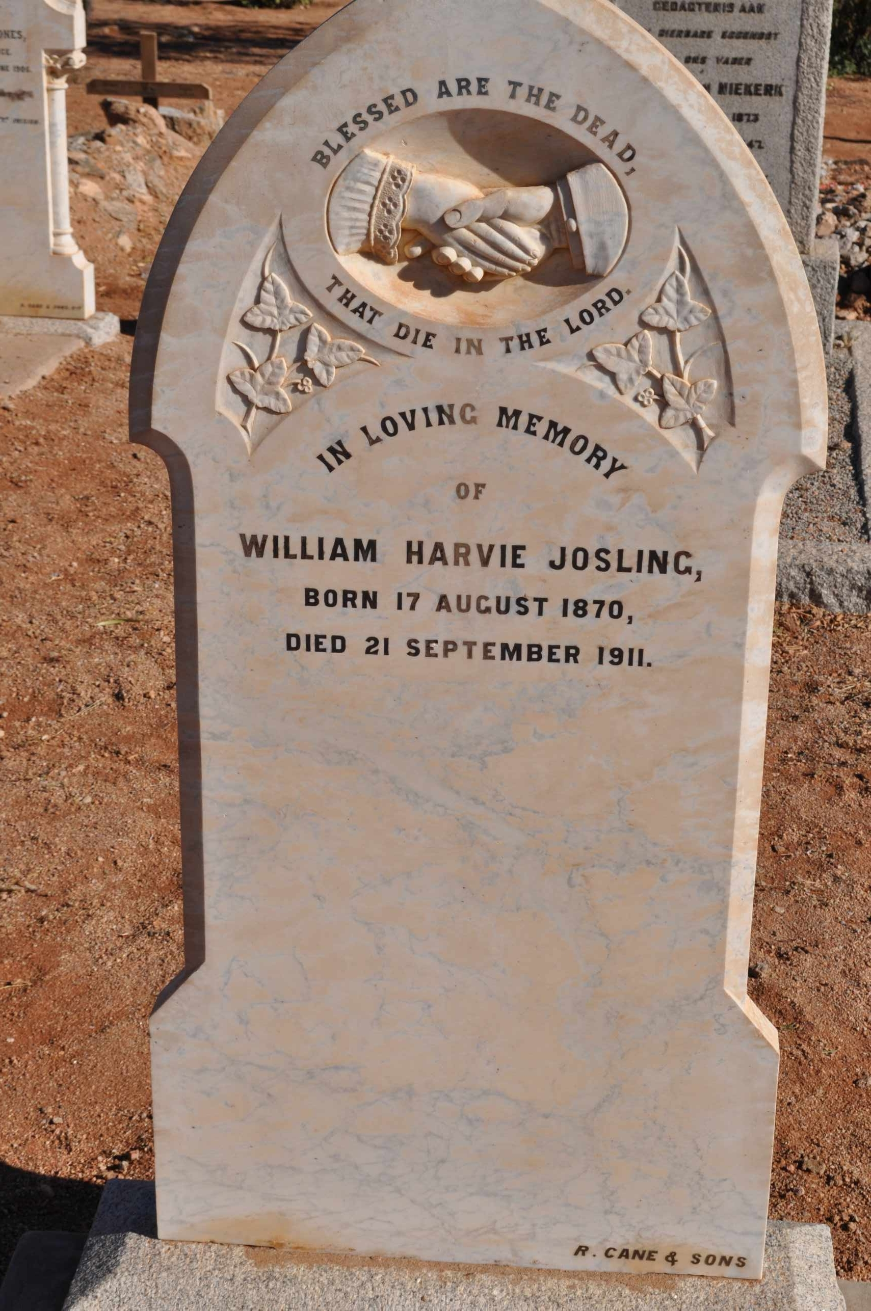 Josling, William Harvie