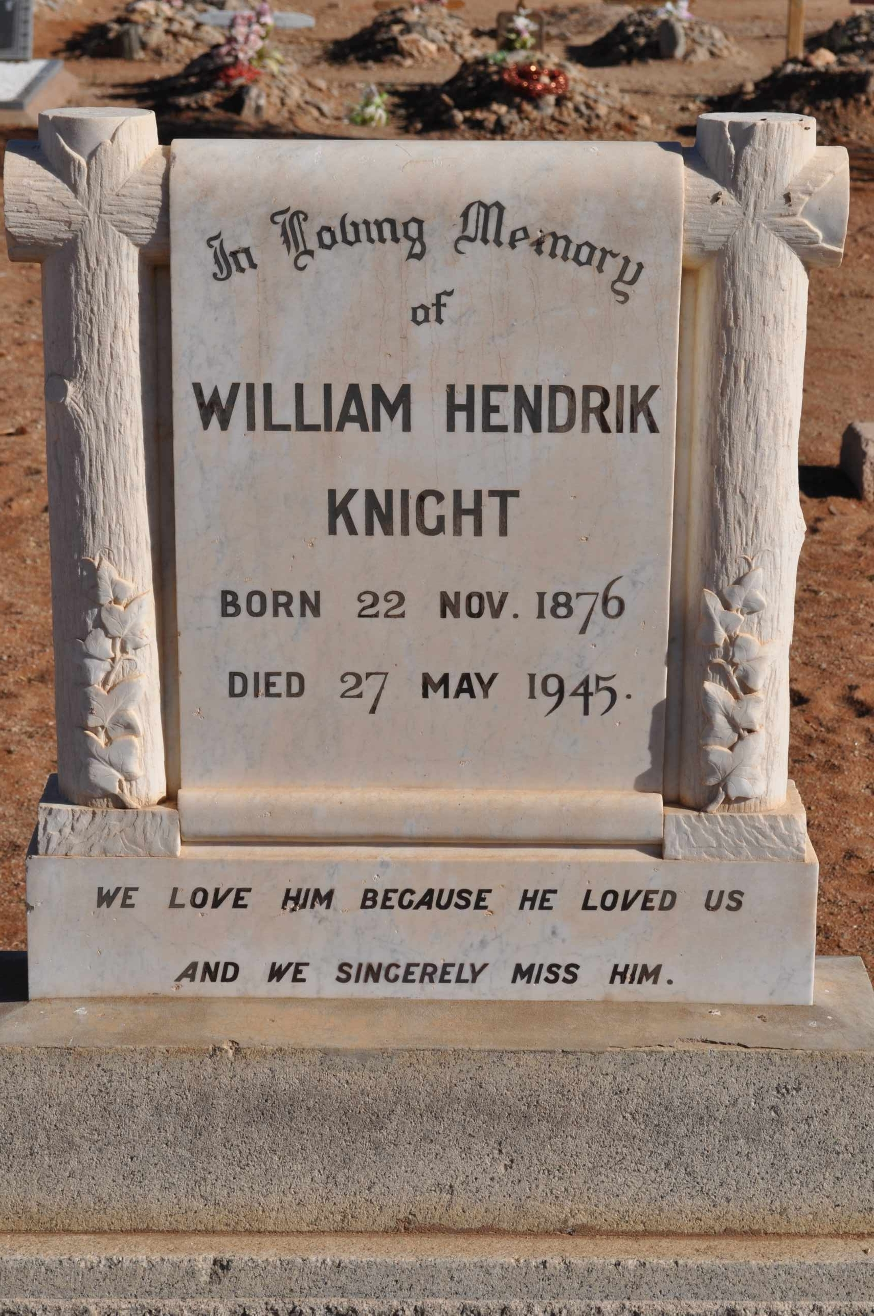 Knight, William Hendrik