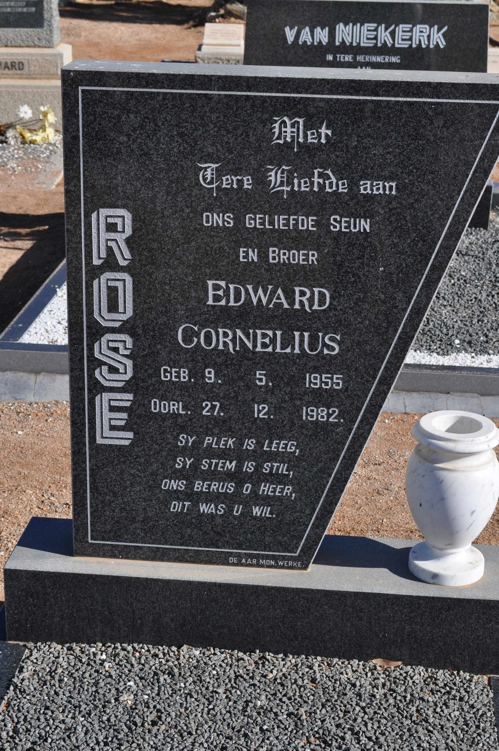 Rose, Edward Cornelius