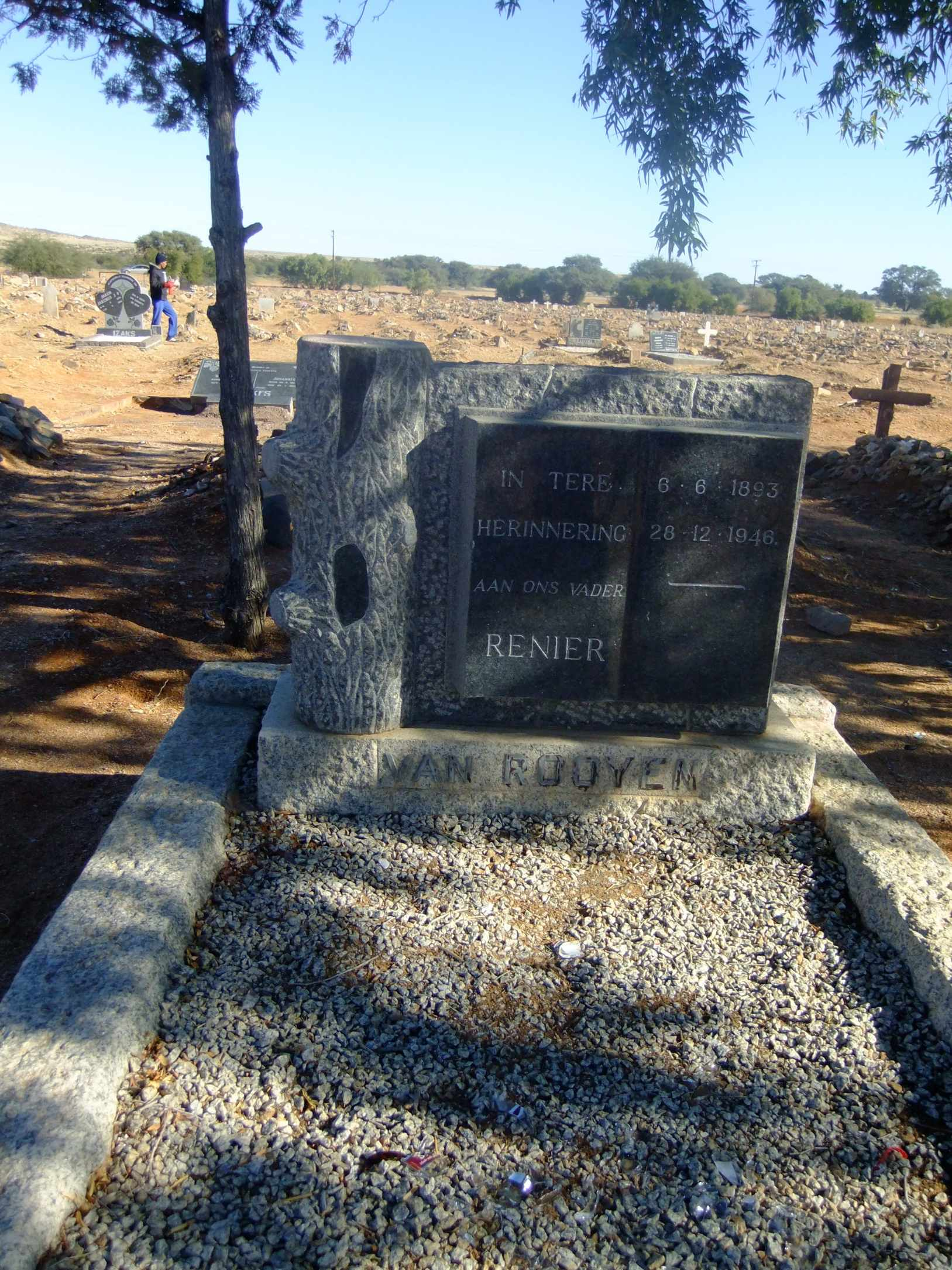 Van Rooyen, Renier bonr 06 June 1893 died 28 December 1946
