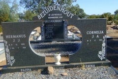 Bezuidenhout, Hermanus and Cornelia