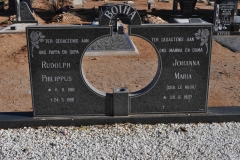 Botha, Rudolph Philippus + Johann Maria born Le Roux