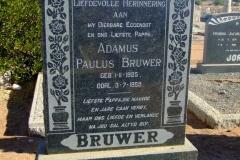 Bruwer, Adamus Paulus