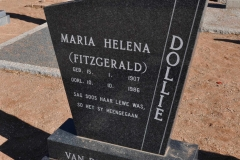 Dollie, Maria Helena nee Fitzgerald