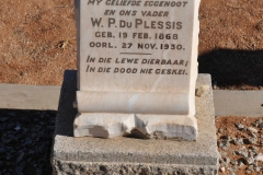 Du Plessis, WP
