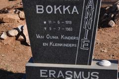 Erasmus, Bokka