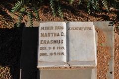 Erasmus, Martha