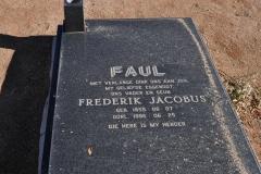 Faul, Frederick Jacobus