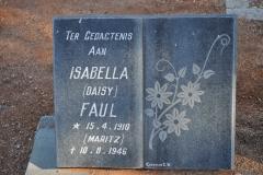 Faul, Isabella Daisy nee Maritz