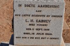 Gadney, LH nee Visser