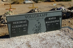 Vollgraaff, Heremias Cornelius born 12 March 1912 died 31 July 1983 and Maria Magdalena born 14 November 1934