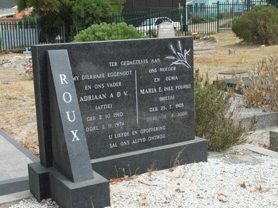 Cemetery Kleinmond 007