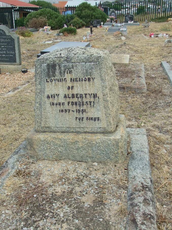 Cemetery Kleinmond 033