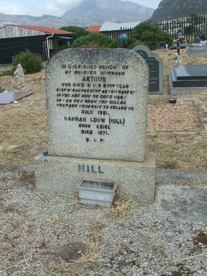 Cemetery Kleinmond 034