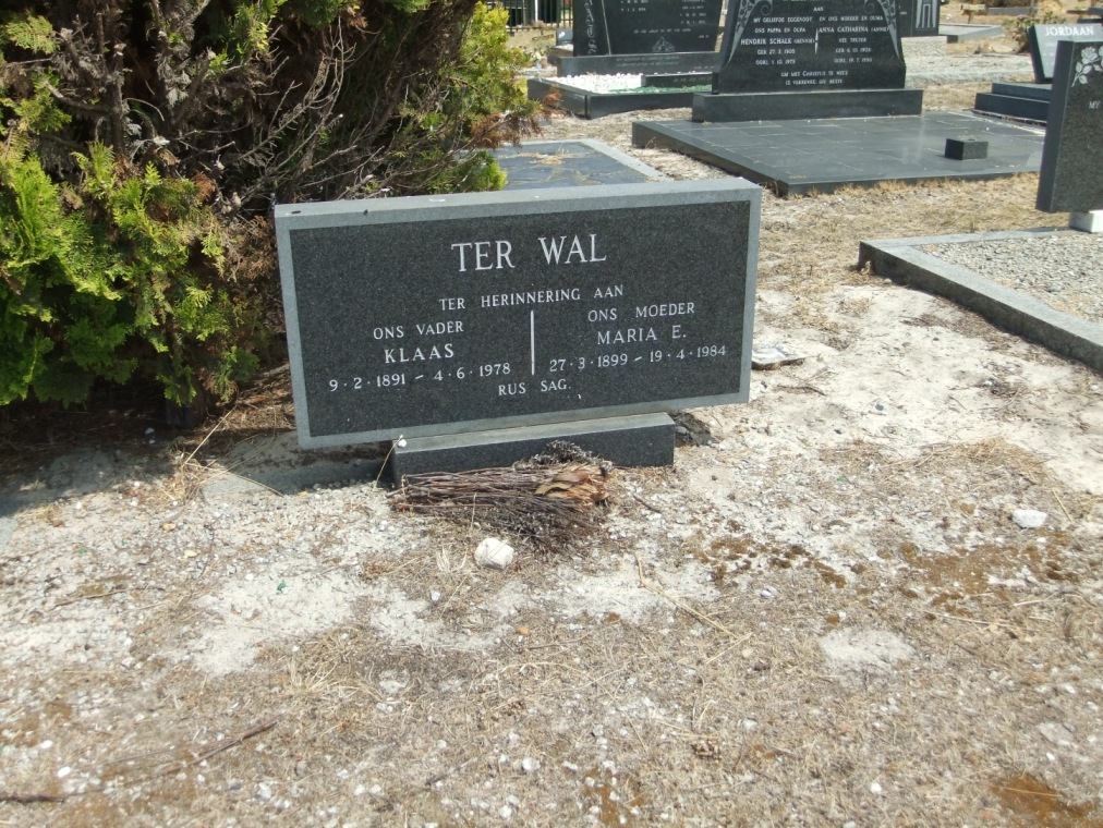 Cemetery Kleinmond 067