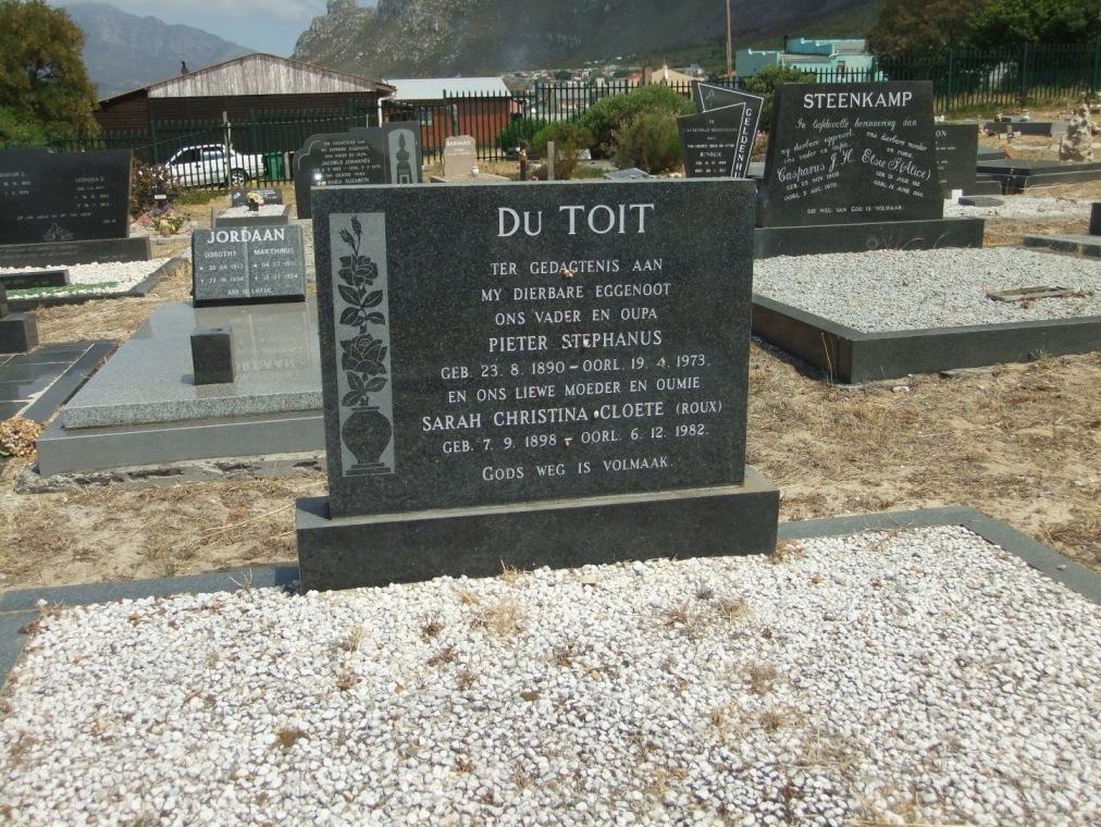Cemetery Kleinmond 069