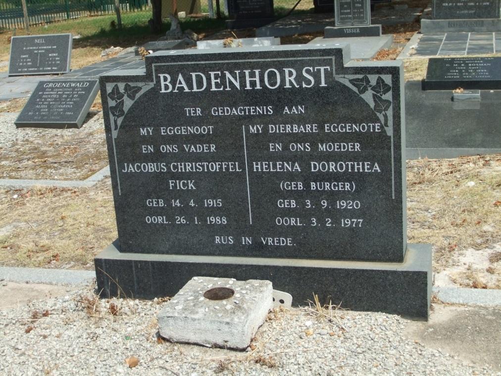 Cemetery Kleinmond 100