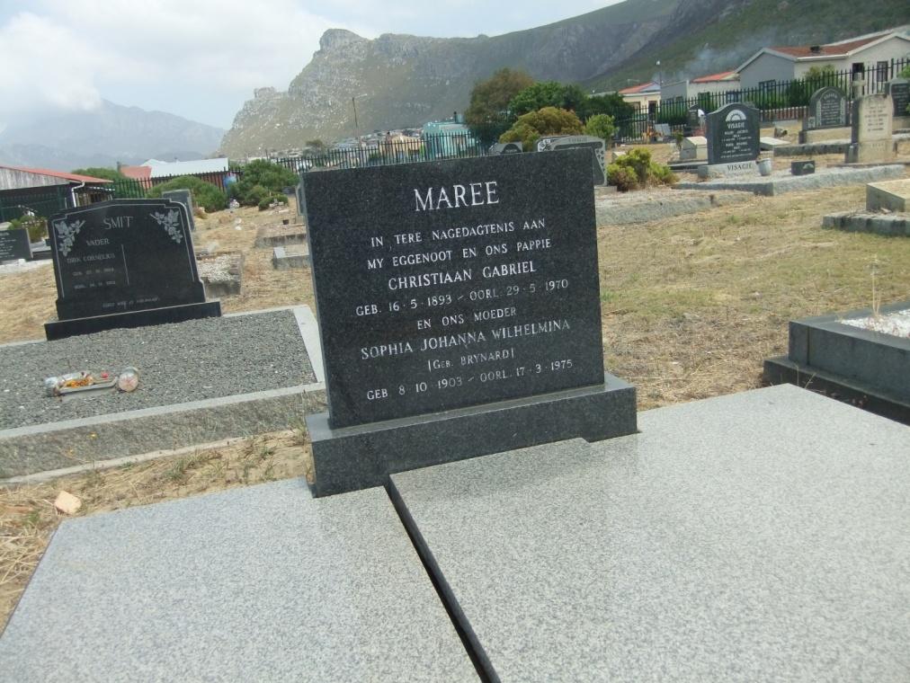 Cemetery Kleinmond 122