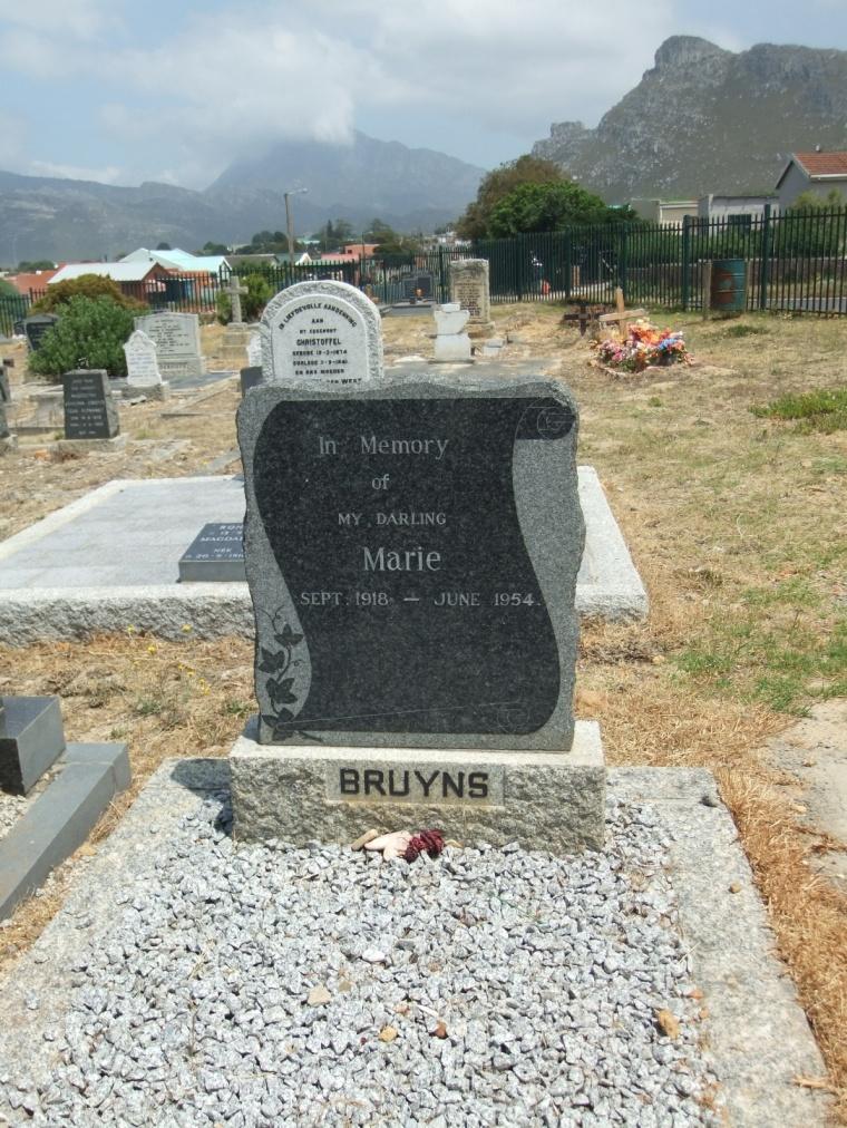 Cemetery Kleinmond 137