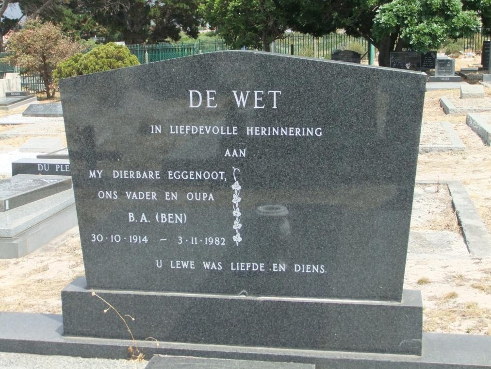 Cemetery Kleinmond 159