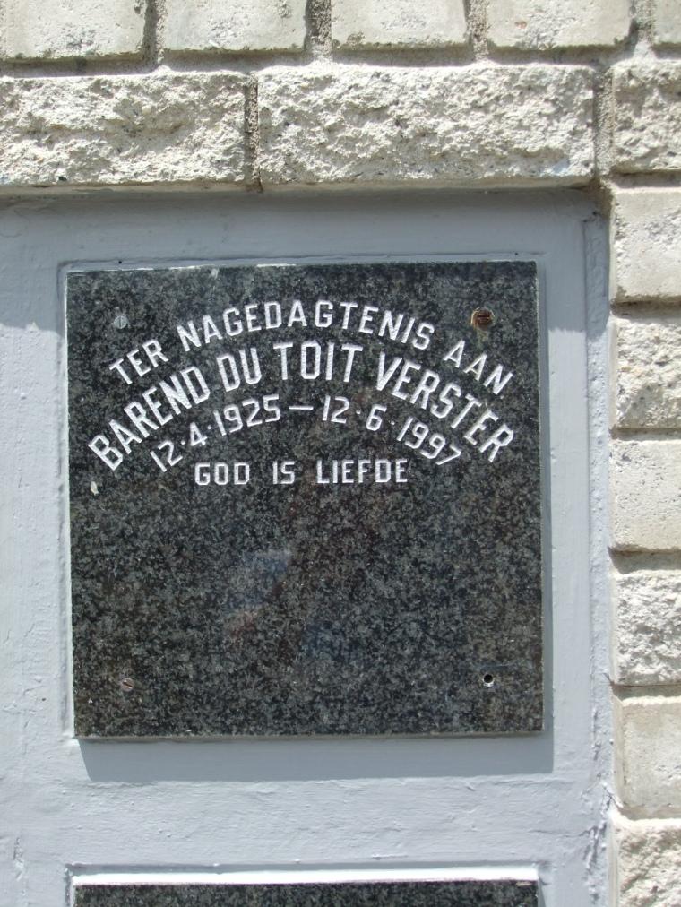 Cemetery Kleinmond 165