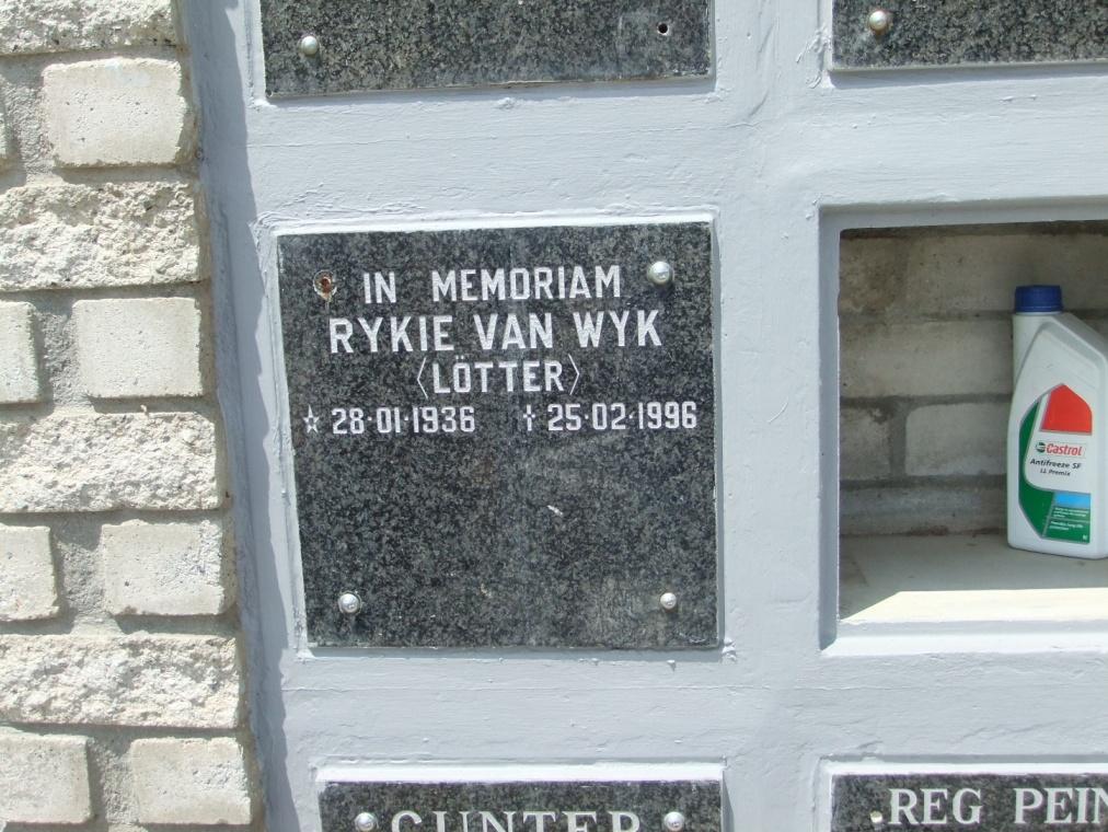 Cemetery Kleinmond 192