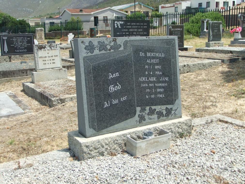 Cemetery Kleinmond 238