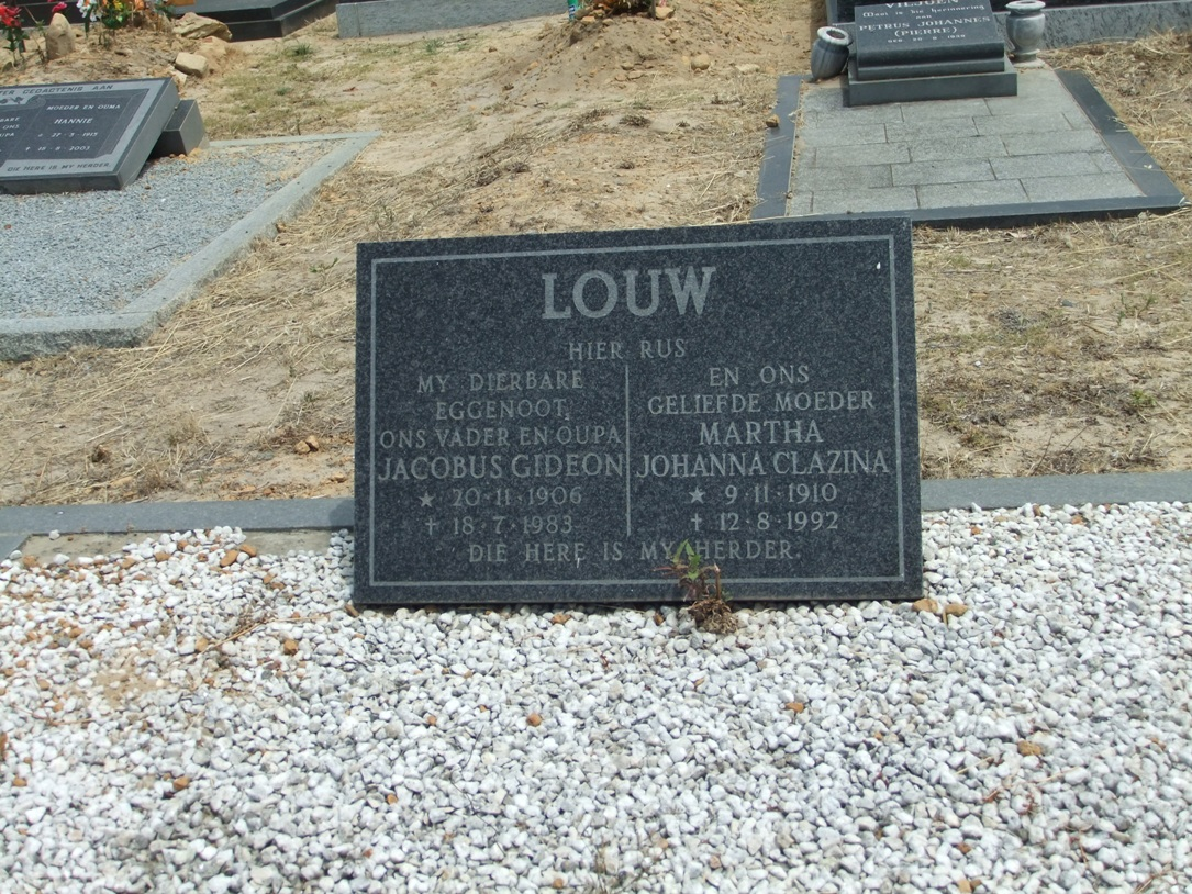 Cemetery Kleinmond 307
