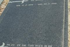 Cemetery Kleinmond 306